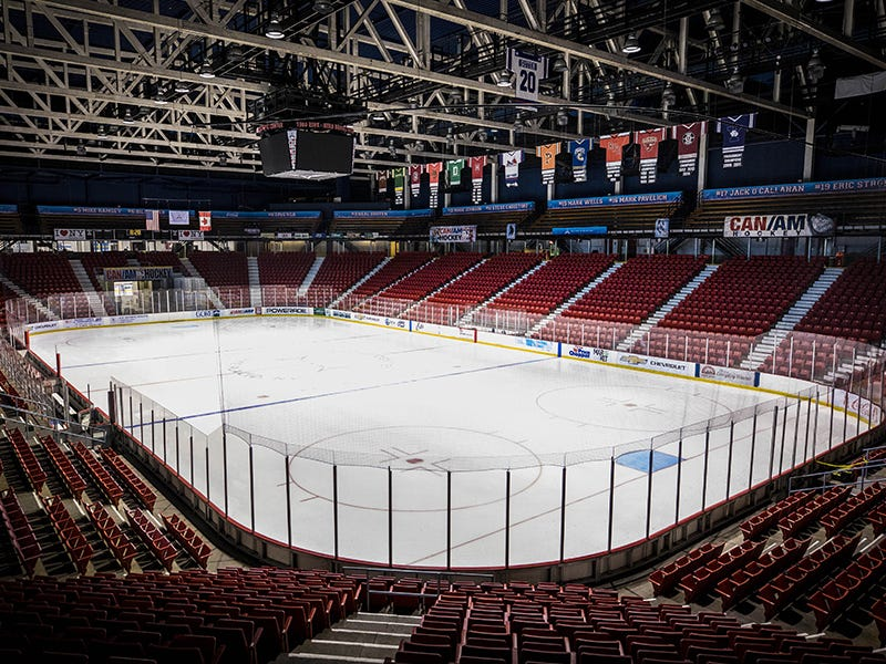 Herb Brooks Arena, Lake Placid, New York: The site of the Miracle on Ice at the 1980 Winter Olympics, which saw an upstart United States men's hockey team defeat the heavily favored Soviet Union at the height of the Cold War.