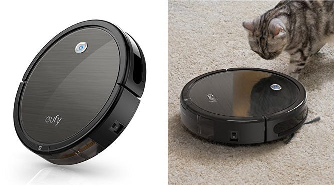 This robot vacuum has been one of our favorites, and we've never seen it for such a great price.