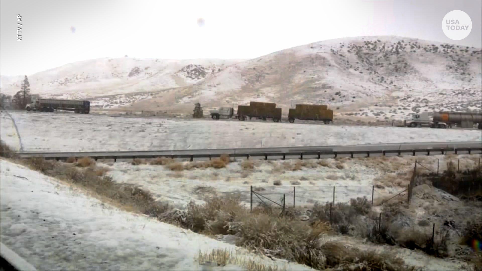 California Braces For Ice Floodudslides