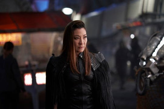 "Michelle Yeoh as Mirror Universe Philippa Georgiou in ""Star Trek: Discovery."""