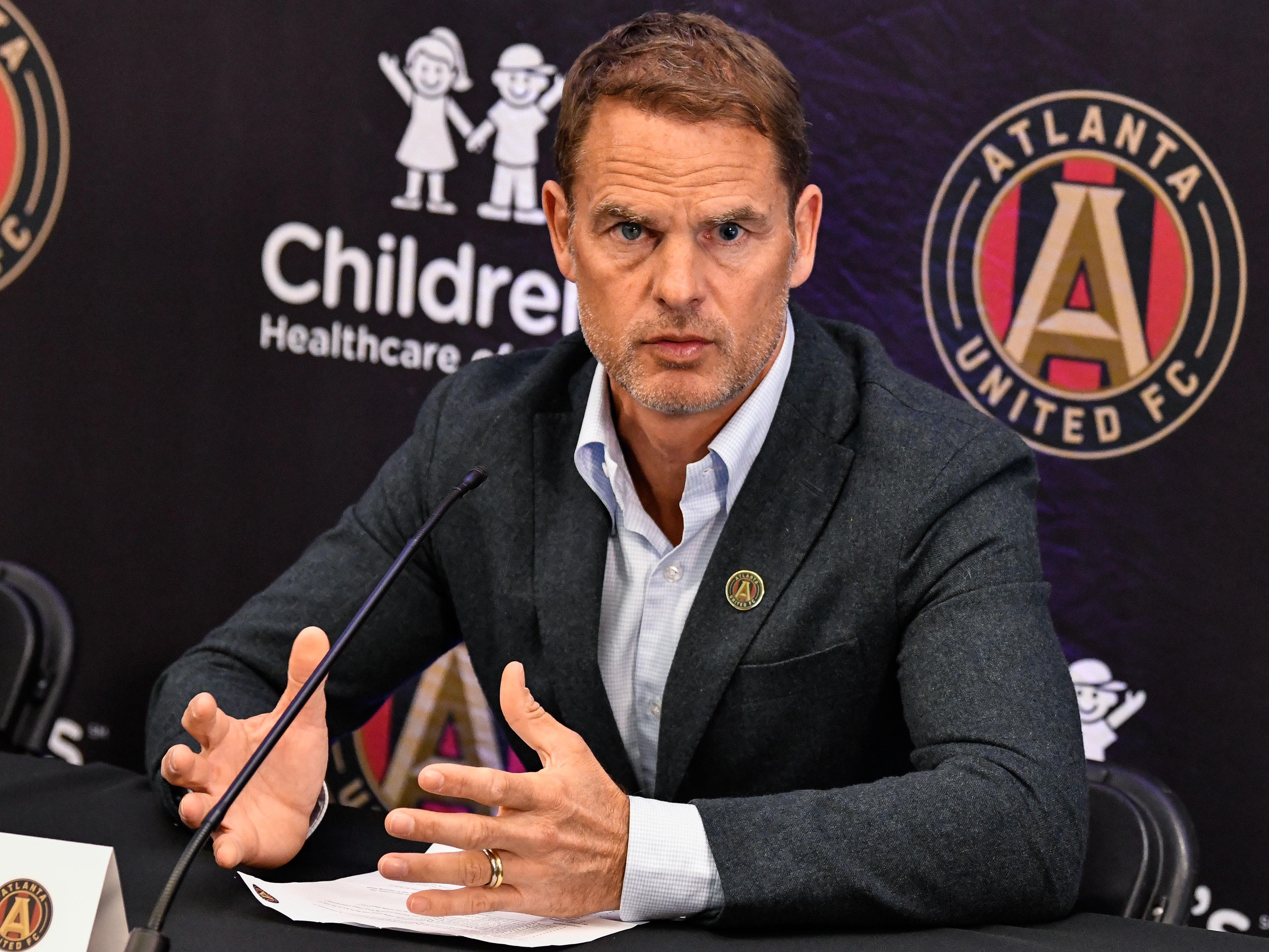 Frank De Boer takes over MLS champ Atlanta United with big shoes to fill