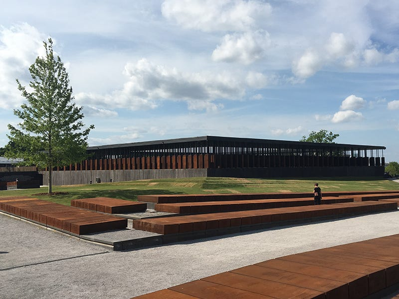 National Memorial for Peace and Justice, Montgomery, Alabama: Conceived to honor the victims of lynchings throughout the South, this memorial creates a contemplative space for visitors to reflect on racial inequality, helping begin a process of national healing and reconciliation.
