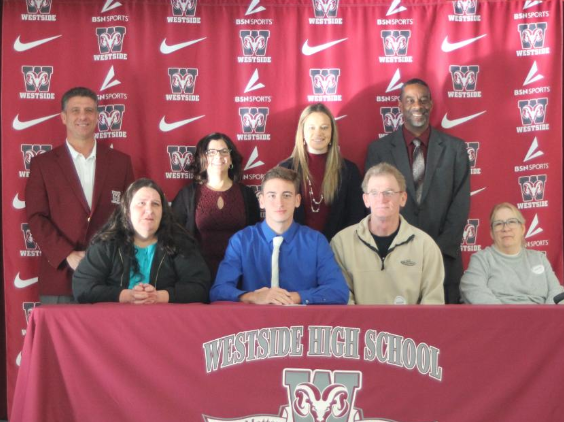 Josh Meadows has earned a scholarship to Erskine College for Cross Country and Track and Field after running Varsity Cross Country at Westside for one season.