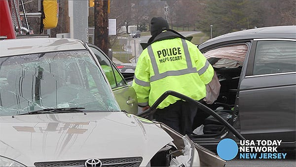 Freehold Township crash closes Route 9