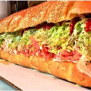 For Super Bowl Sunday, Lenny's Colonial Ranch Market in Point Pleasant makes three, four, five and six-foot subs.