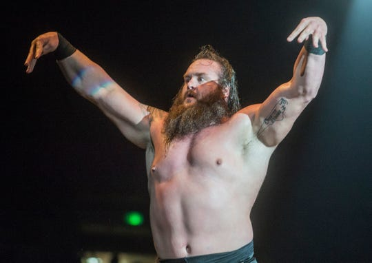 Braun Strowman, pictured at a WWE event in Montgomery, Ala., on Saturday, Jan. 9, 2016.