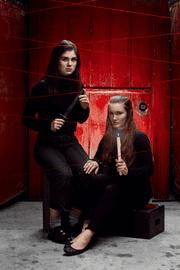 "Shea Grant and Abigail Devine in ""A Little Shakespeare: Macbeth."""