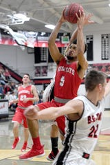 Pisgah hosted Hendersonville on Jan. 15, 2019. The Bearcats defeated the Black Bears 77-55.