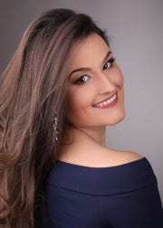 Michelle Goodrich, 27, will be attending the Miss New York USA pageant at the Performing Arts Center in Purchase from Jan. 18-20.