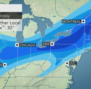 Holiday weekend forecast in the Southern Tier: Heavy snow, frigid temperatures