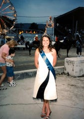 Michelle Goodrich, now 27, has been competing in pageants since around the age of 10.