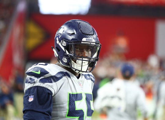 Seahawks defensive end Frank Clark made less than $1 million in 2018, the final year of his rookie contract. Next year, he could make $17 to $18 million.