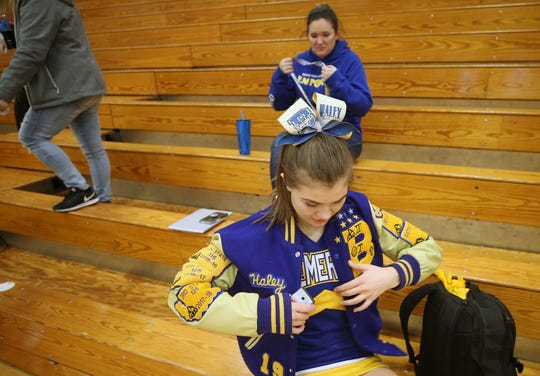 Bremerton senior Haley Michaelson placed in the top-four at the state wrestling tournament as a freshman, sophomore and junior.