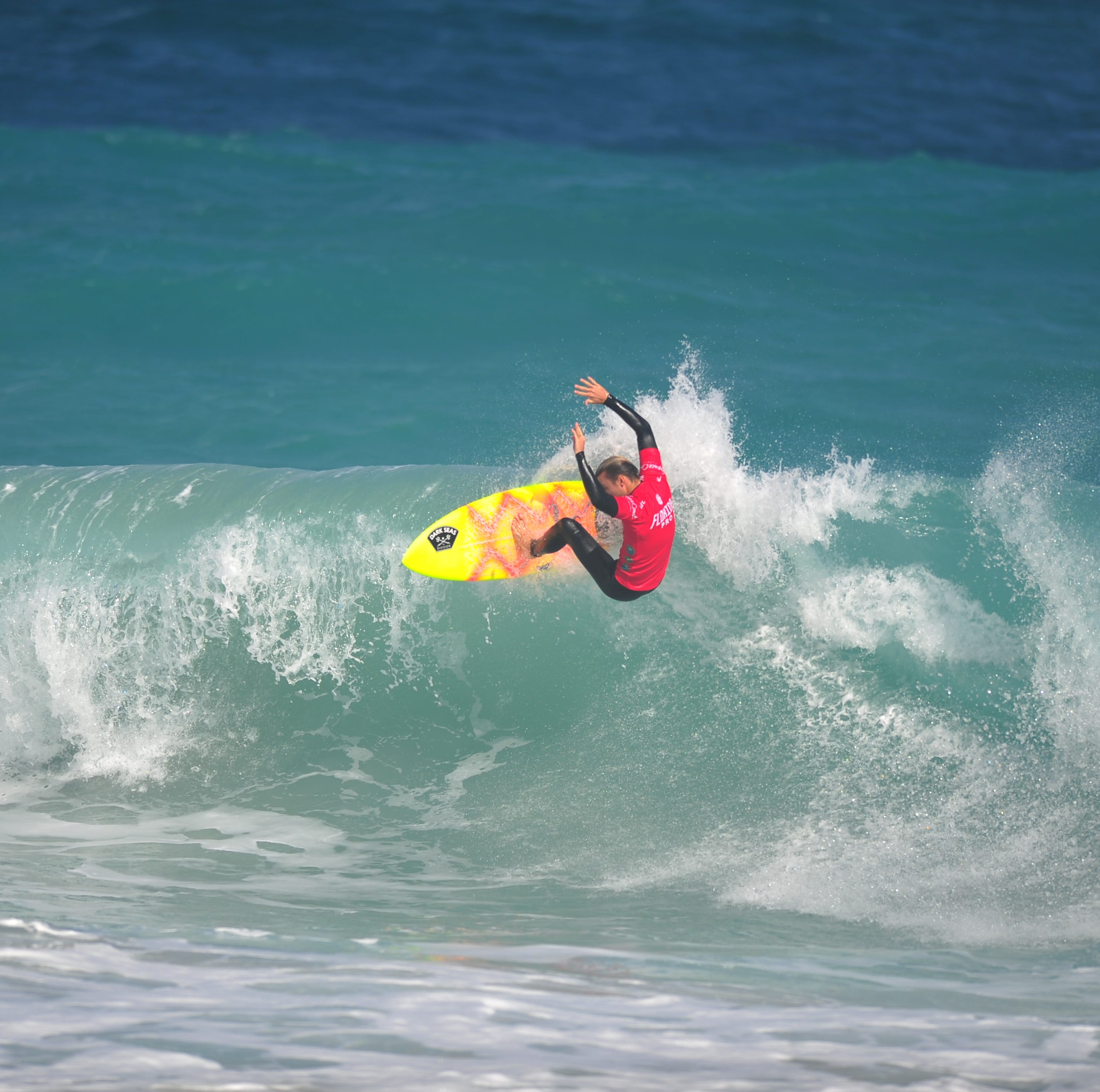 Florida Pro surfing: Defending champ eliminates brother