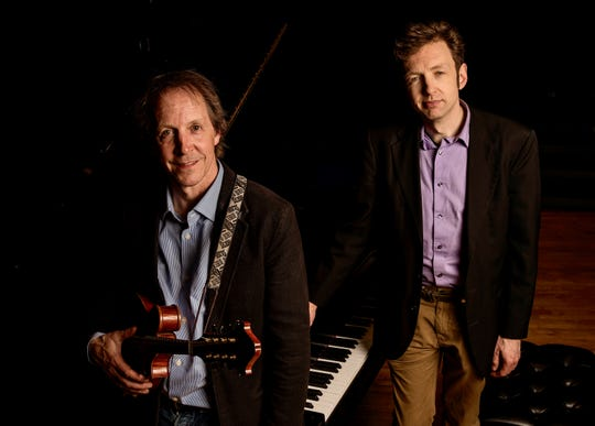 Jamie Masefield and Tom Cleary perform as a jazz duo Jan. 26 in Bristol.