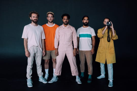 Young the Giant performs Jan. 29 at the Flynn Center in Burlington.