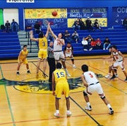 Odem earns key district win and chance at district title with victory over Mathis on Tuesday.