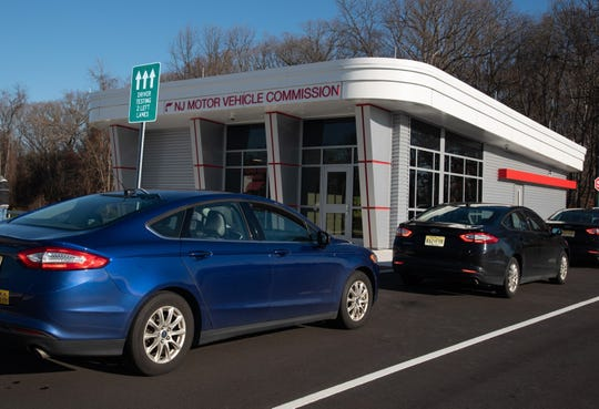 The exterior of the new Motor Vehicle Commission office in Delanco.