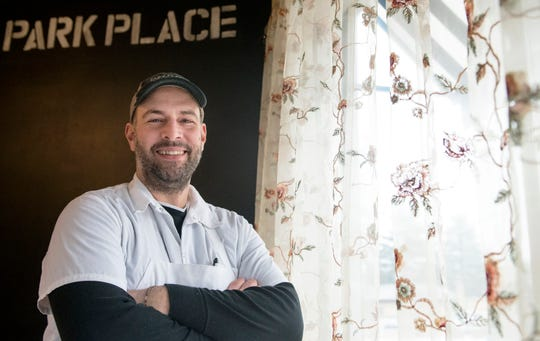 Phil Manganaro, owner/chef of Park Place Cafe & Restaurant in Merchantville, NJ, stands in the dining room of his restaurant on January 16, 2019.