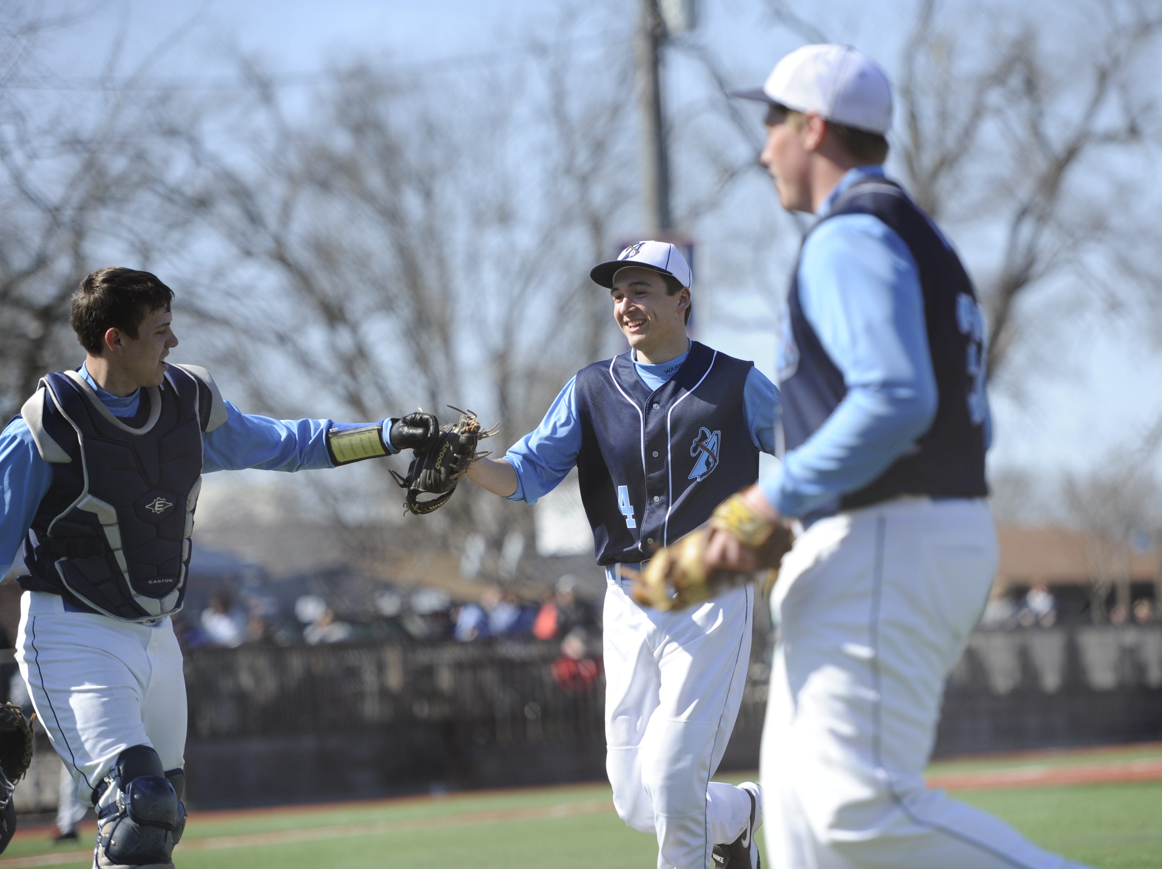 Adena High School baseball played against Sandusky Perkins at V.A. Memorial Stadium on Saturday. The final score was _.