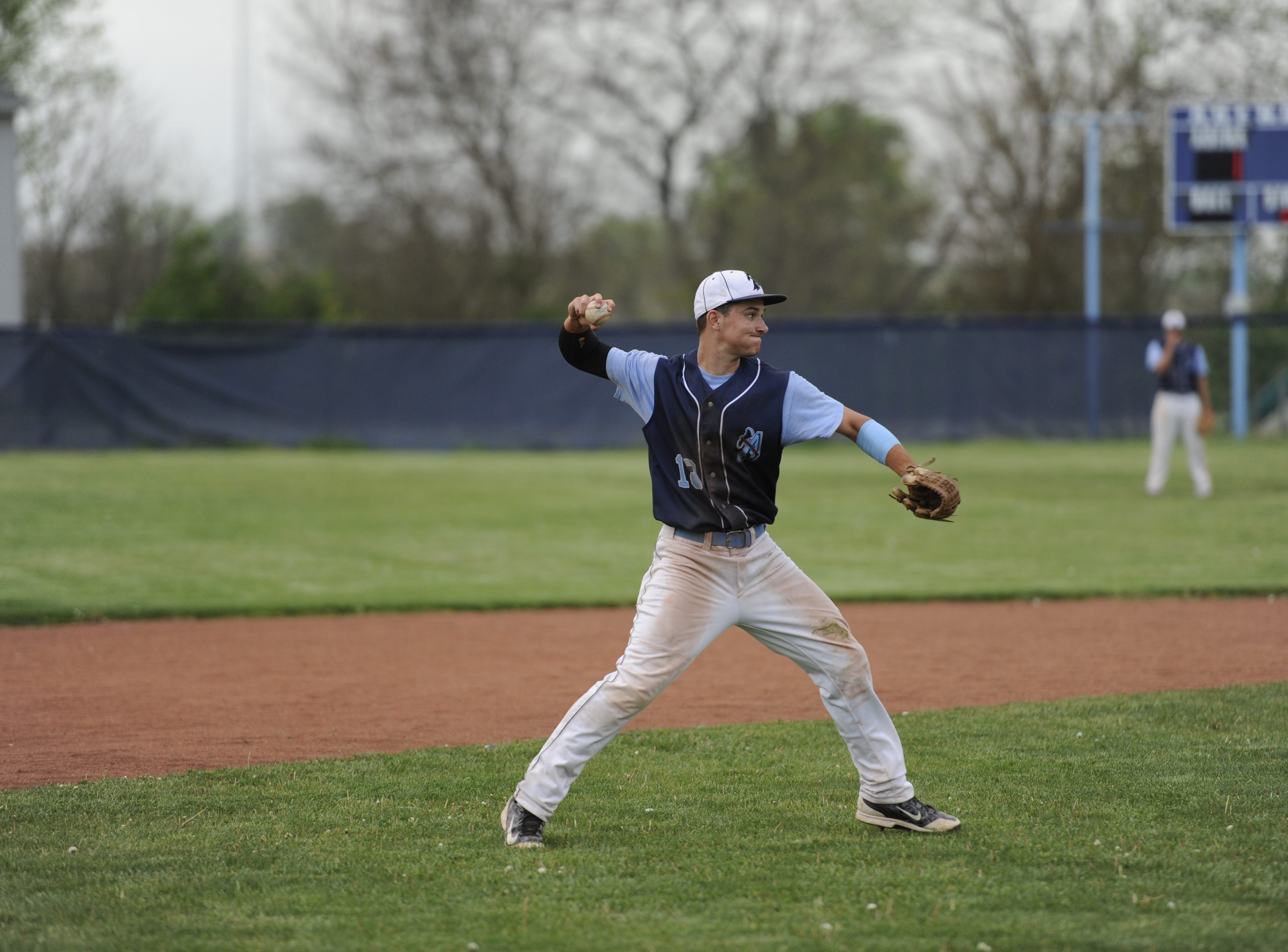 Adena boy's baseball played against Paint Valley at Adena on Monday. The final score was Adena _, Paint Valley _.