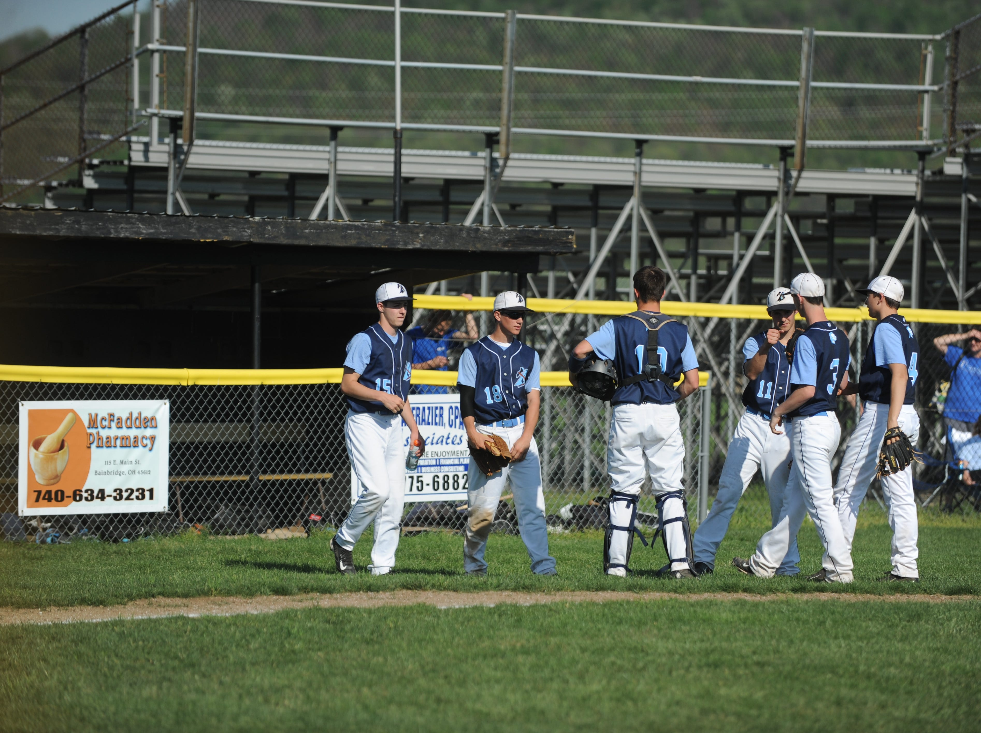 Adena boy's baseball played against Paint Valley at Adena on Monday.