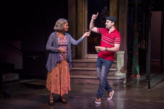 "They are far from the flashiest and most outgoing residents, but there are few characters who personify the heart of their neighborhood as much as Abuela Claudia (Yassmin Alers, left) and Usnavi (Ryan Alvarado). The two are central characters in the Playhouse in the Park's co-production of ""In The Heights,"" the Tony Award-winning musical that opens Jan. 24."