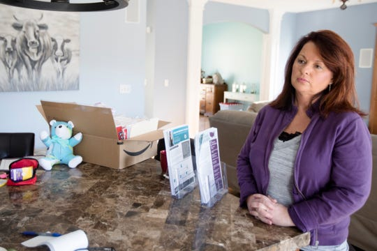 Jennifer Stepp, a treatment advocate in Bullitt County, Kentucky, talks about her relentless search for opioid-addiction treatment for her son, Sammy Stepp. 'It failed every time.' But he's been in recovery since he got medication-assisted treatment three years ago.