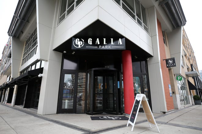 Galla Park opened in October 2018 as a restaurant and bar at Third Street and Joe Nuxhall Way, a few steps from the entrance to Great American Ball Park.