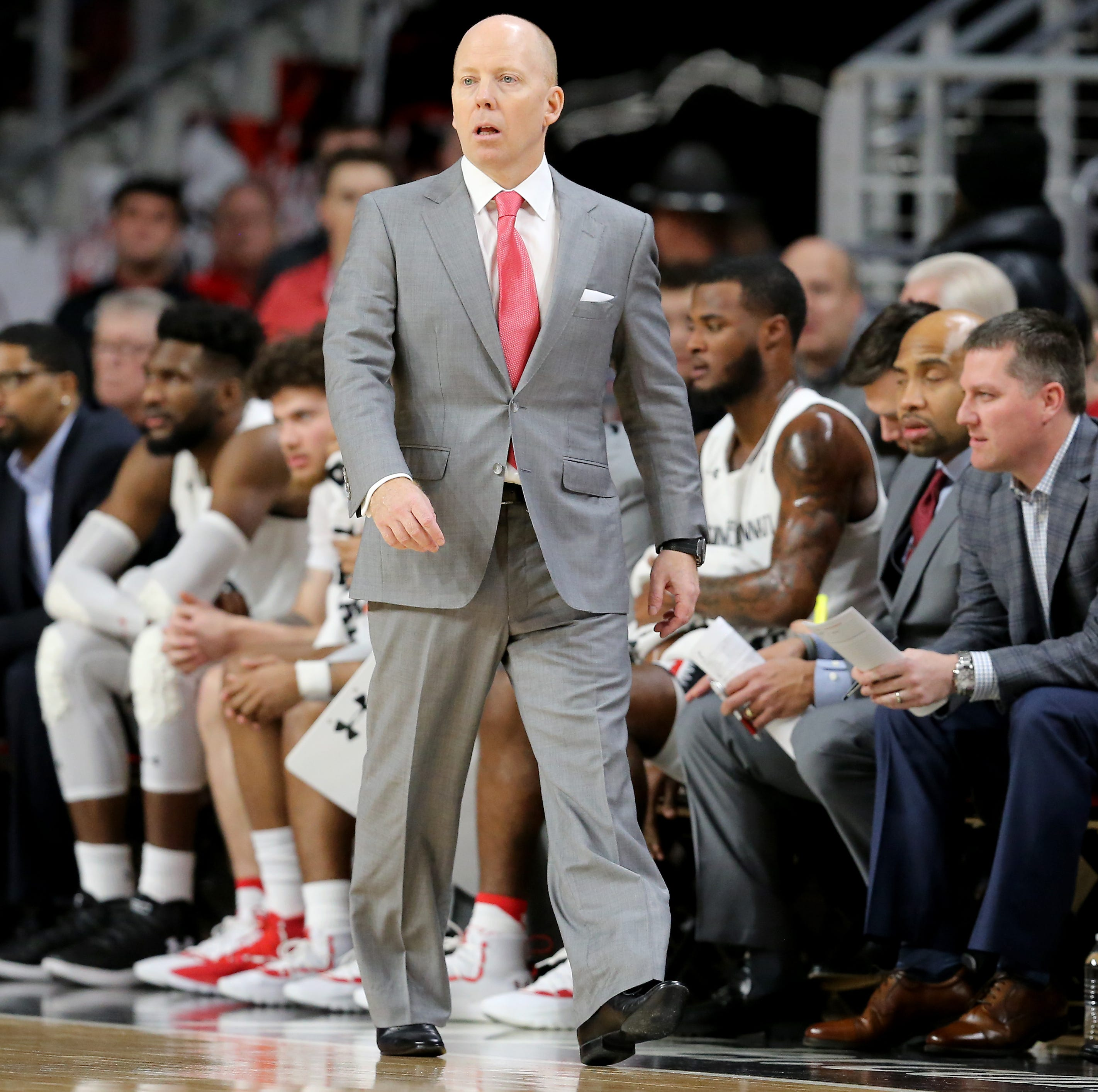 UC coach Mick Cronin ejected for first time in USF game