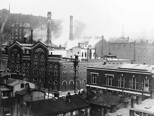 The Christian Moerlein Brewing Co. in Over-the-Rhine was one of the city's  top breweries before Prohibition.