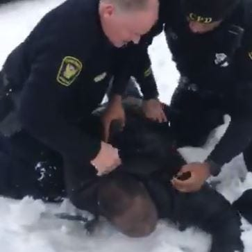 'It was more than just a snowball fight': Man wrongly arrested, family says. Others say they felt threatened.