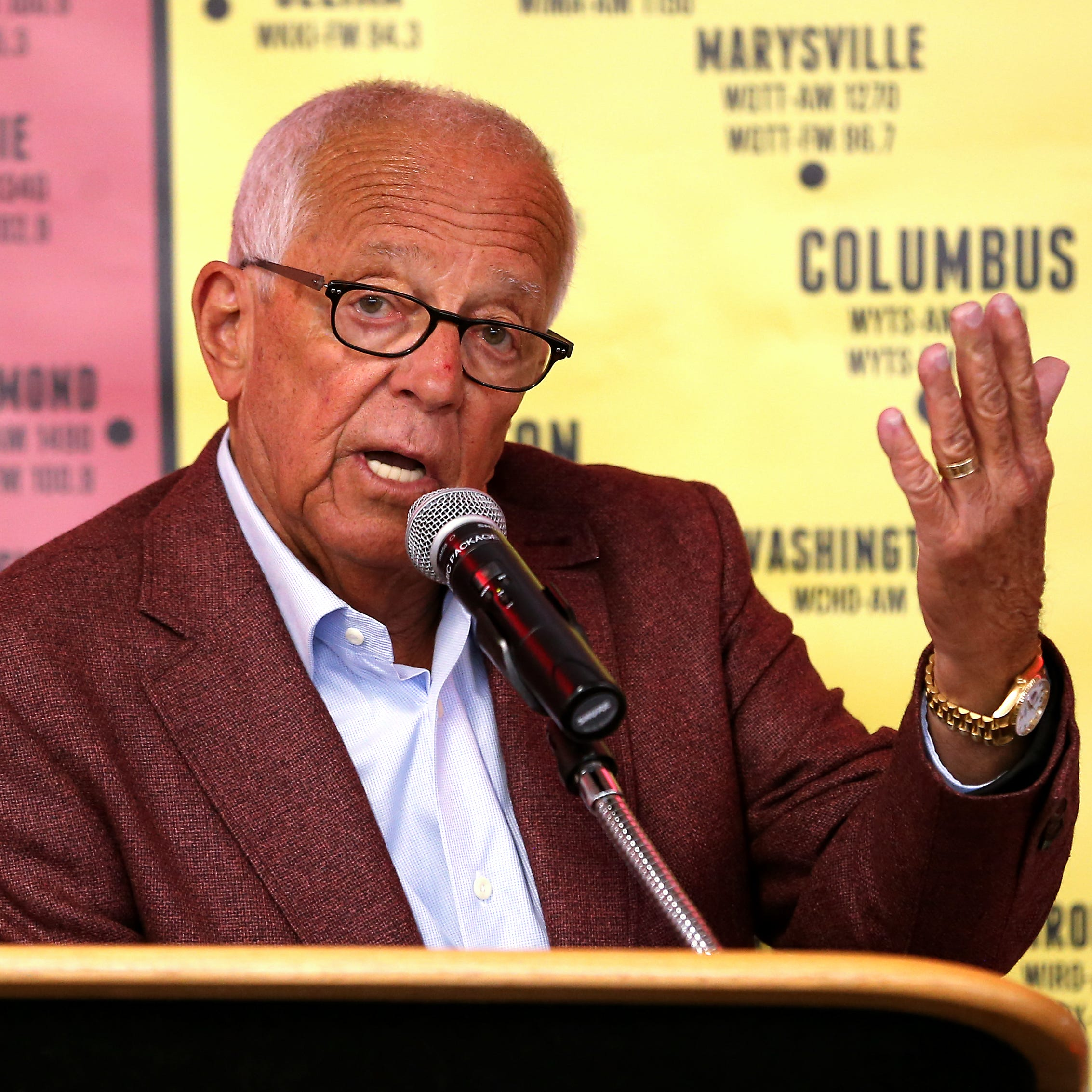 Cincinnati Reds play-by-play broadcaster Marty...