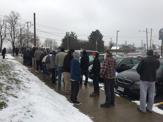 Scenes from CY+ medical marijuana dispensary in Wintersville where some of the first medical marijuana sales in Ohio took place on January 16, 2019.
