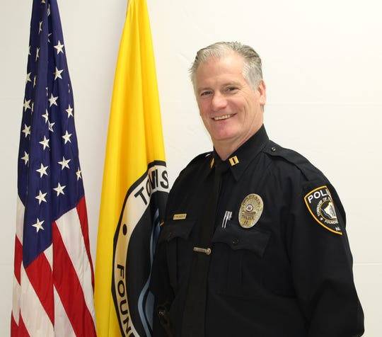 Piscataway Police Capt. Michael McLaughlin will take over as the township's chief of police on Friday.