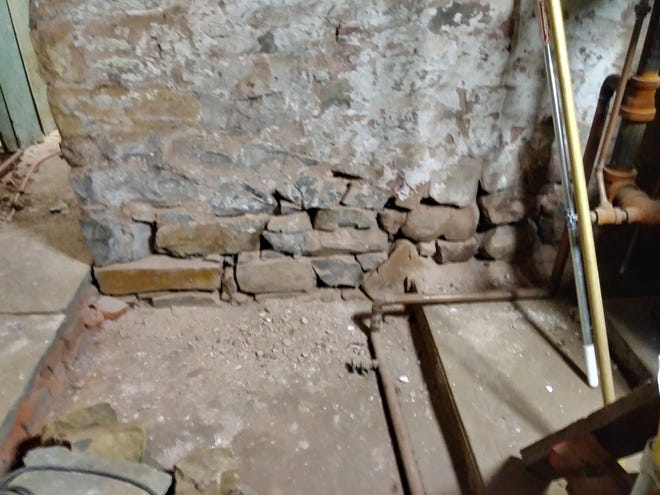 A major restoration of interior masonry walls of the Drake House Museum was recently competed. Some areas are as old as 1746 and the Drake House was where George Washington consulted with his officers during and after the Battle of Short Hills.