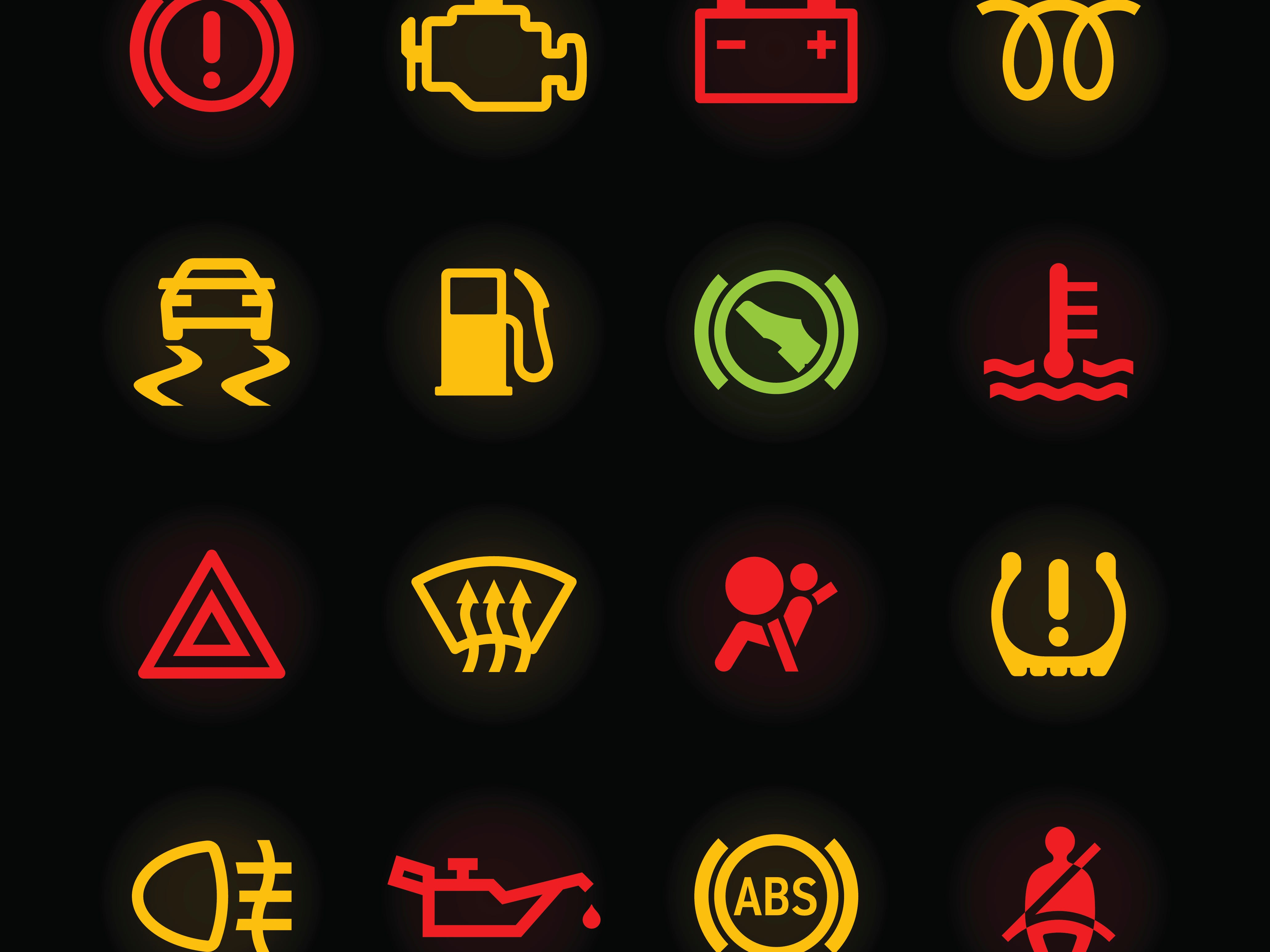 Do you know what these 10 car dashboard symbols mean?