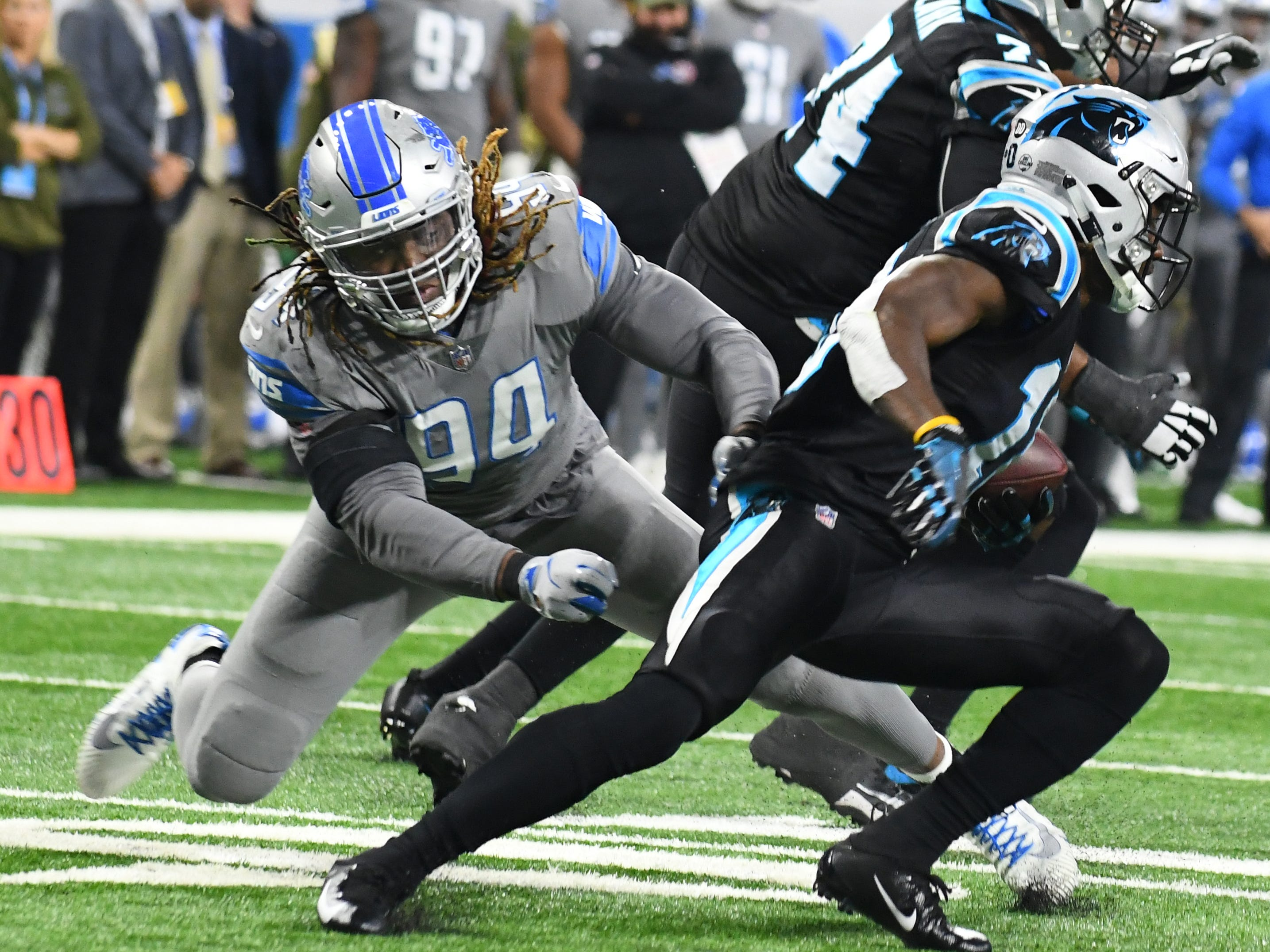 Ziggy Ansah, DE, Detroit: No introduction is needed. The Lions know what Ansah can do when healthy, but he's rarely been healthy the past three years. He produced pressure at an elite rate in 2018, but played fewer than 200 snaps because of a shoulder injury. Only way to justify bringing him back is on an incentive-laden deal.