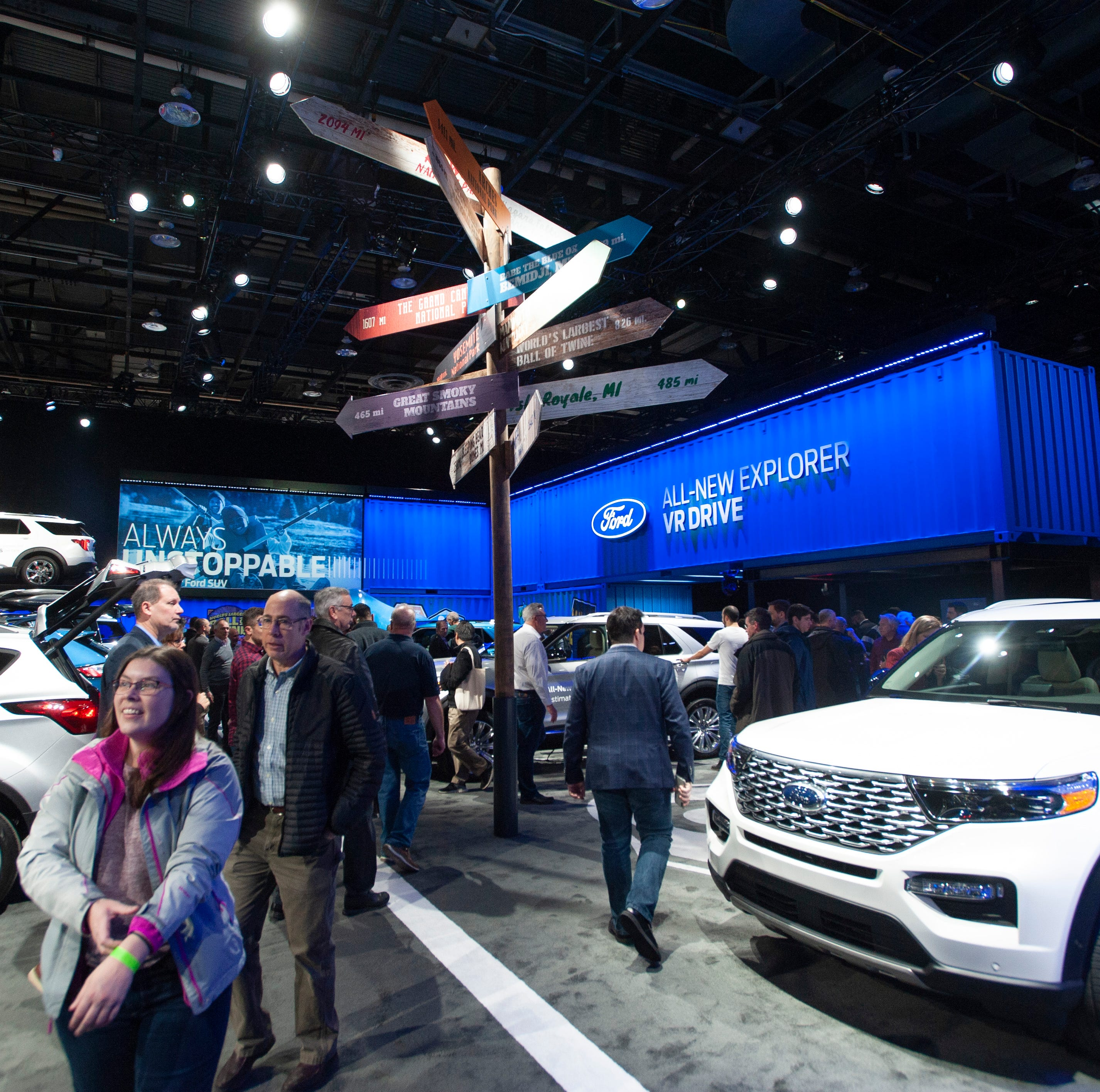 Detroit auto show consumer guide: Smaller show, big acts