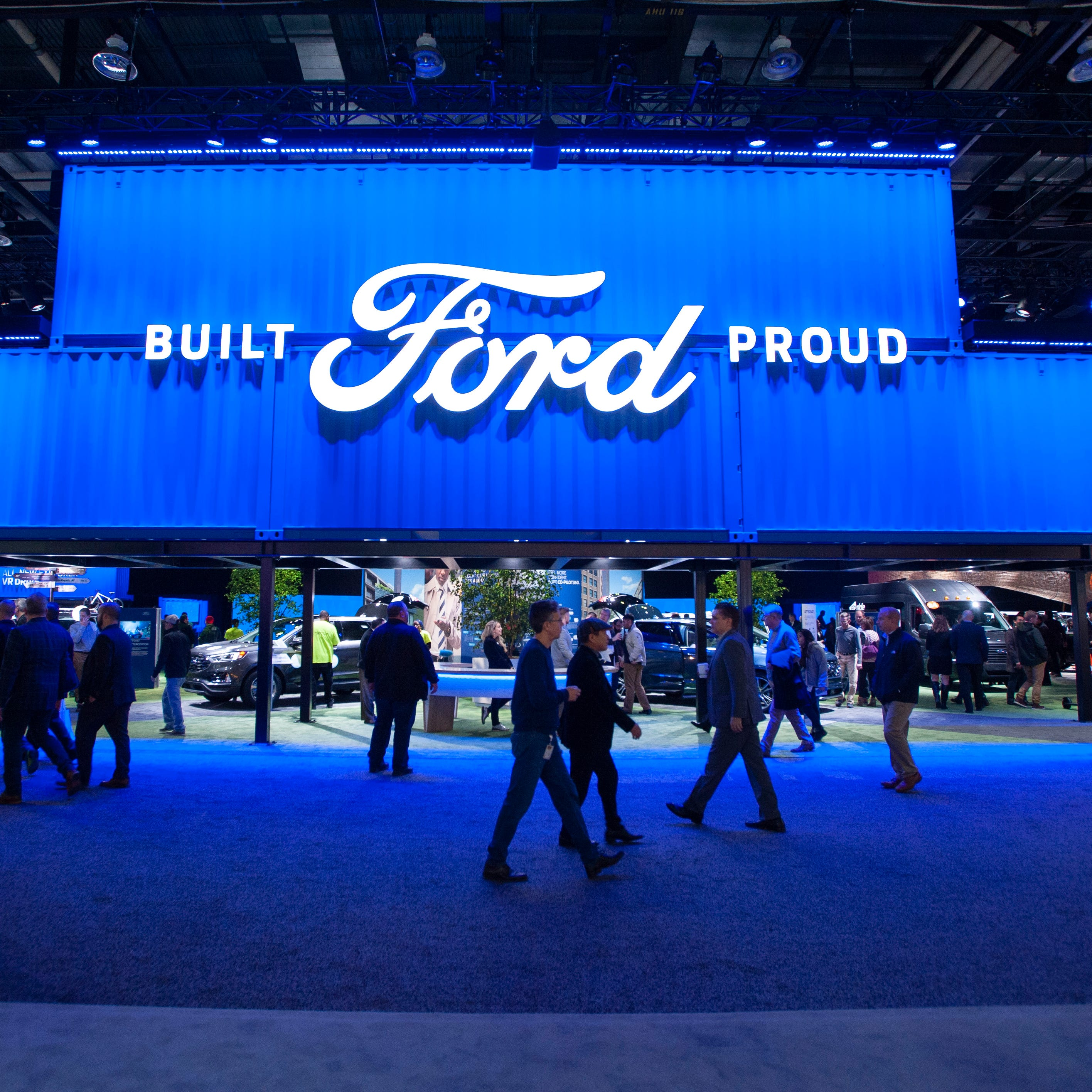 Ford profits down more than 50 percent in 2018