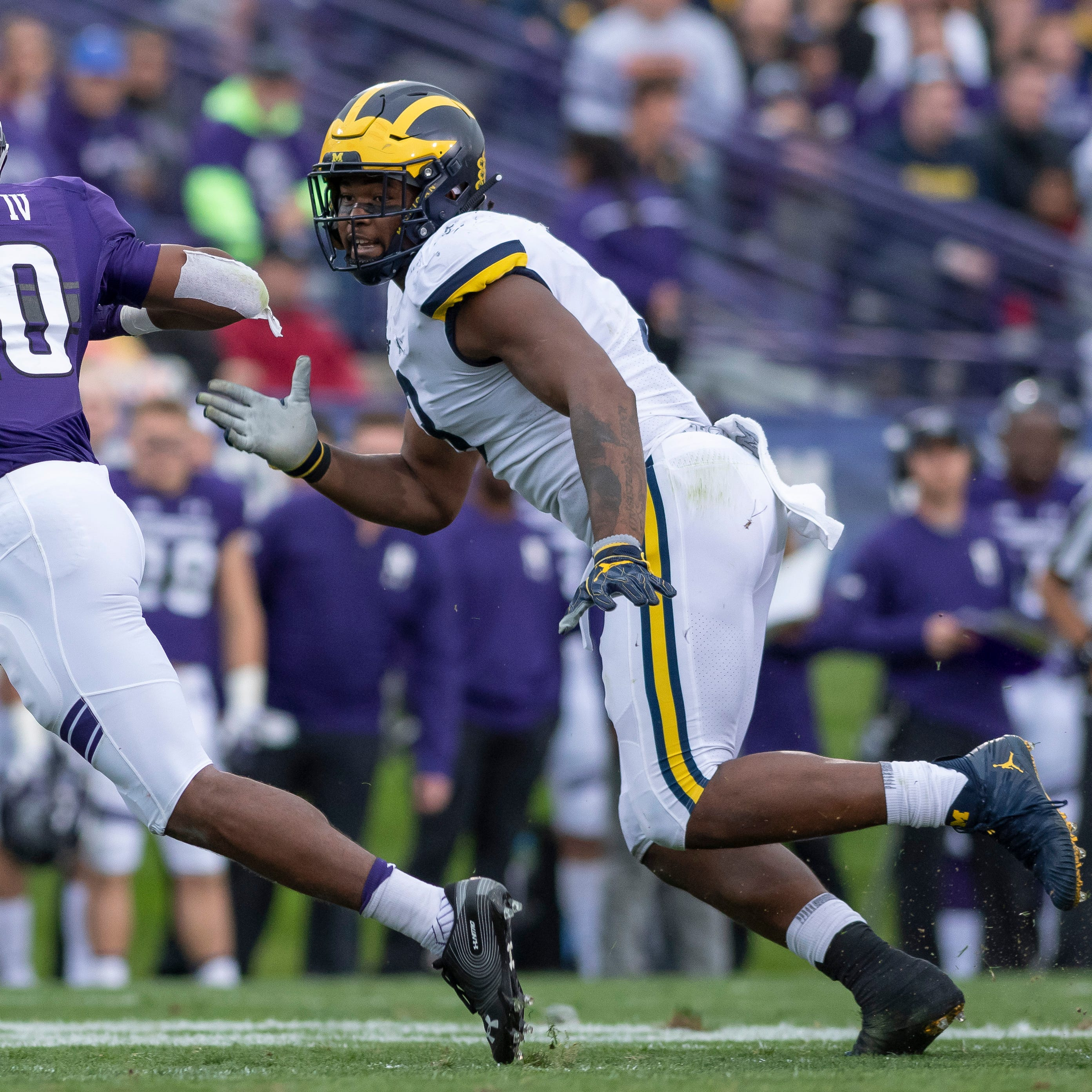 Lions go for Michigan's Rashan Gary in mock draft
