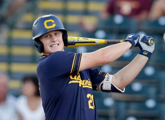California first baseman Andrew Vaughn could be an option for the Tigers, who own the No. 5 pick in the 2019 MLB draft.