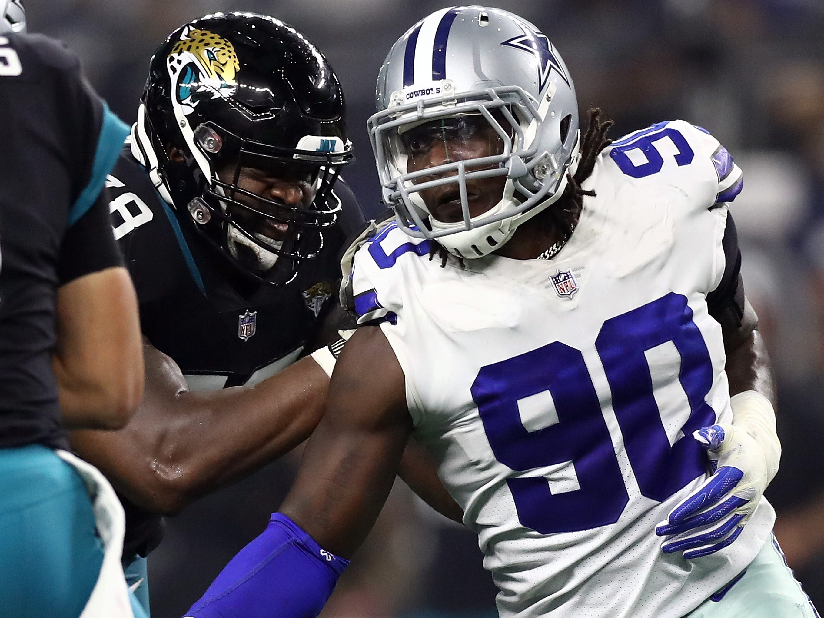DeMarcus Lawrence, DE, Dallas: The 26-year-old edge defender is the total package of size, length and pass-rushing ability. He's recorded 25 sacks over the past two seasons, while generating 63 total pressures in 2018. He played on the franchise tag last season, and Dallas is expected to pull out all the stops to lock him up long-term.