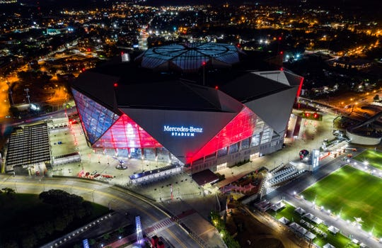 Mercedes-Benz Stadium in Atlanta will be the site of Super Bowl LIII.