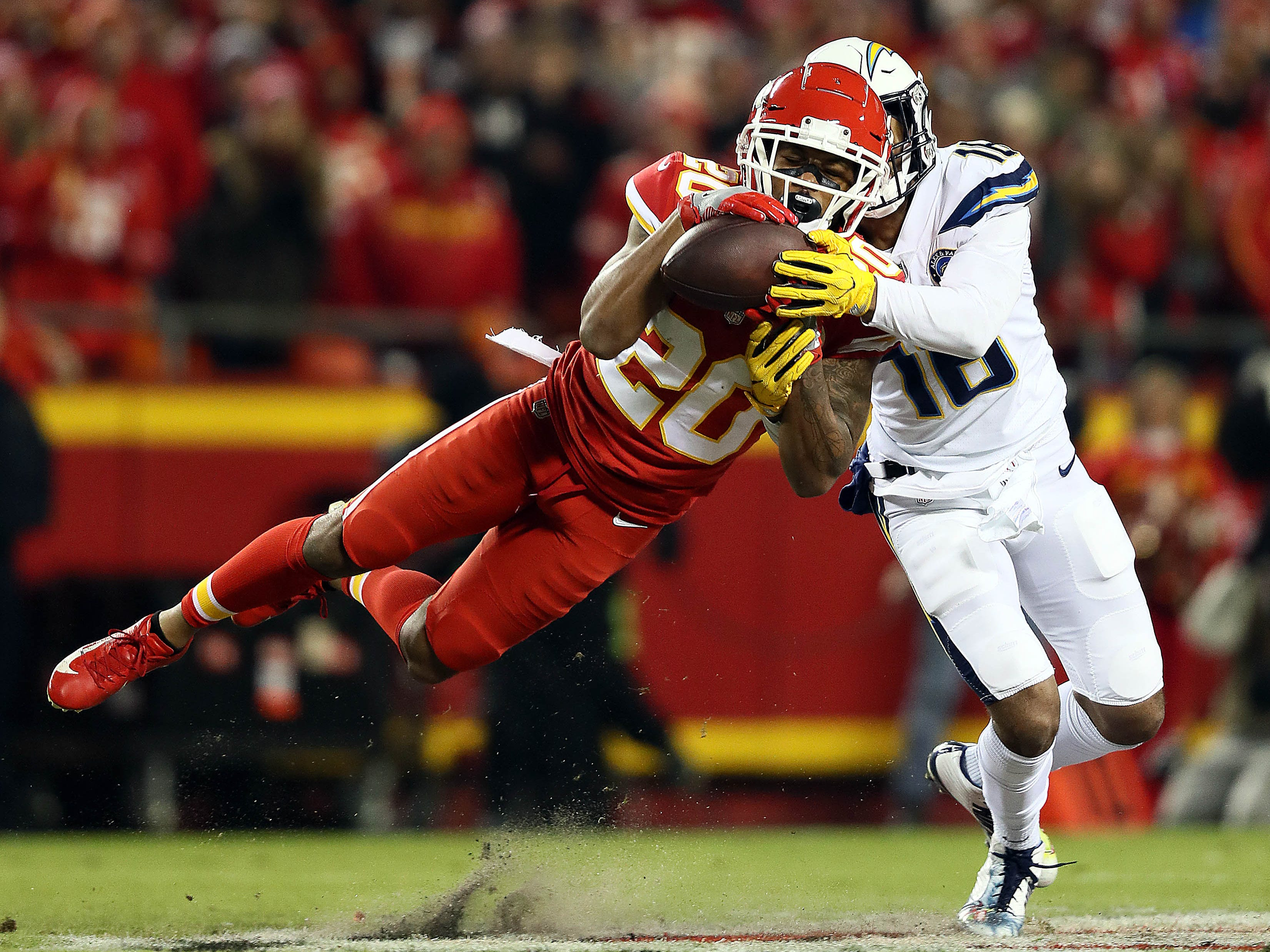 Steven Nelson, CB, Kansas City: A steadily improving young cornerback, Nelson started intercepting passes in 2018, as opposed to just breaking them up. He finished the year with four picks and 15 pass defenses for the Chiefs. He primarily played on the outside in 2018, but has plenty of experience working the slot, giving him added value.