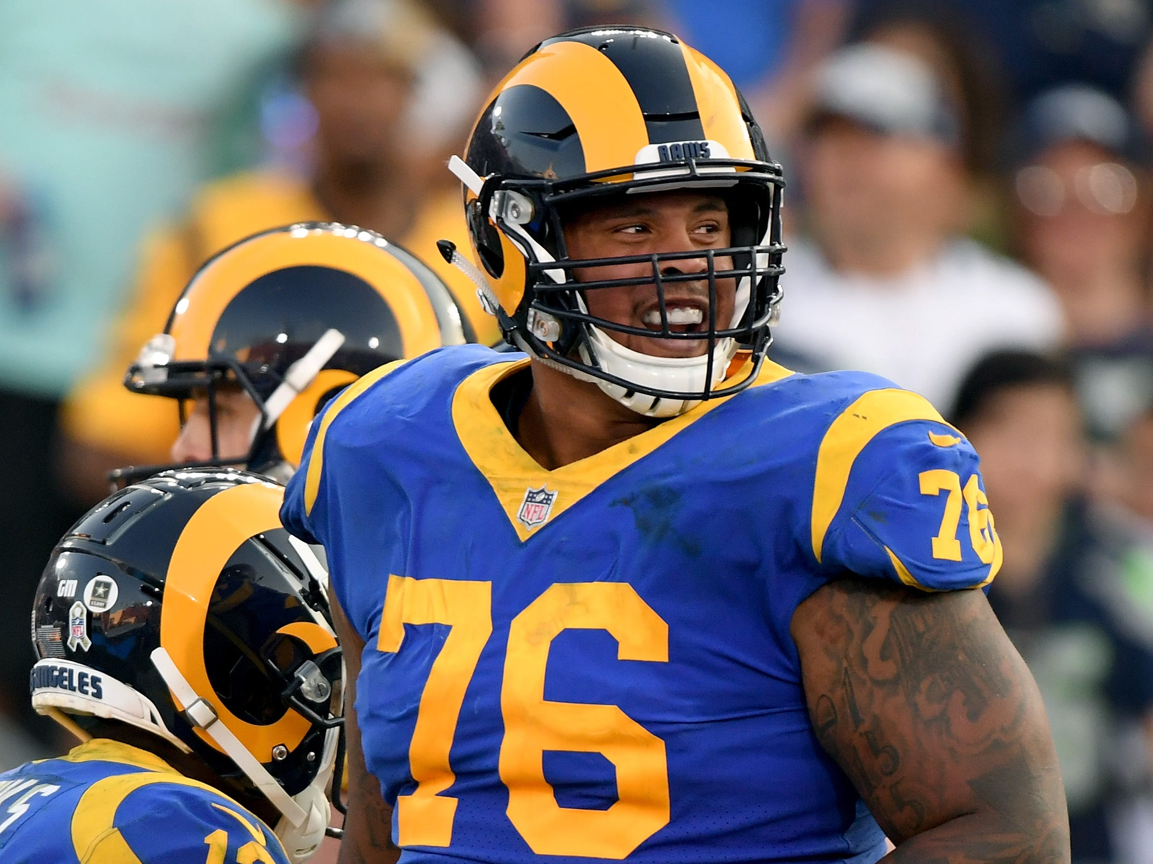 Rodger Saffold, G, Los Angeles Rams: The veteran guard is on the wrong side of 30, turning 31 this June, but he's been fairly durable, starting at least 15 games four of the past five seasons. The best interior lineman scheduled to be on the market, Saffold has been locked into playing left guard in recent years, but the Lions could easily move Frank Ragnow. Saffold has allowed an average of 2.0 sacks and 23 pressures his past four full seasons.