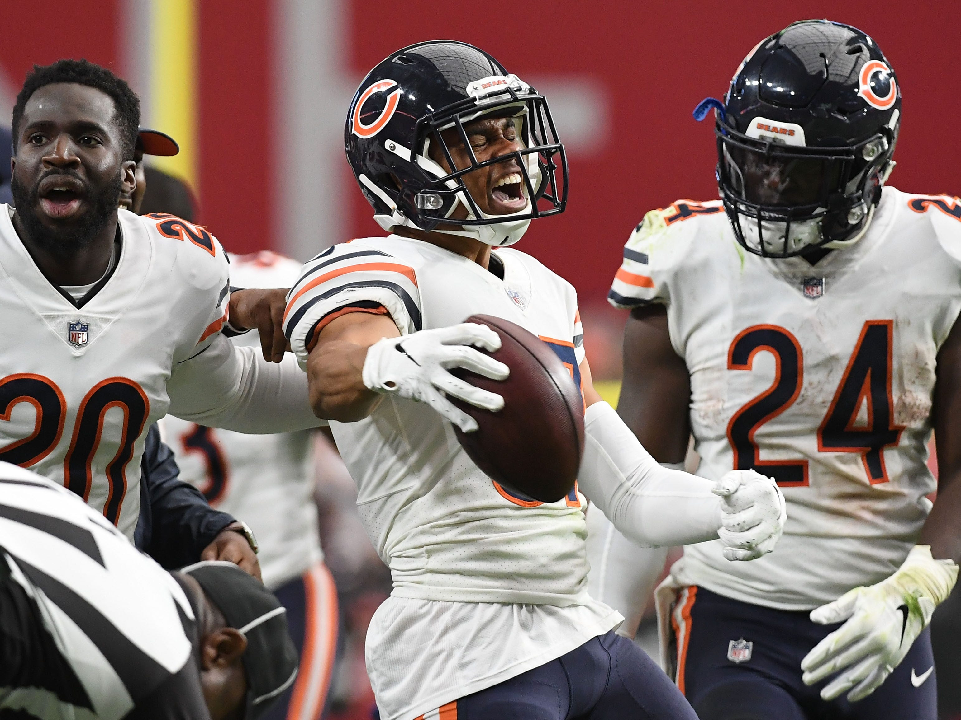 Bryce Callahan, CB, Chicago: A season-ending broken foot will likely put a damper on Callahan's market after a breakout campaign in 2018. Allowing just 56 percent of the passes thrown his direction to be completed, he displayed a comfort level defending receivers both outside and in the slot. He's not a big-time playmaker, but did have a pair of interceptions each of the past two seasons.