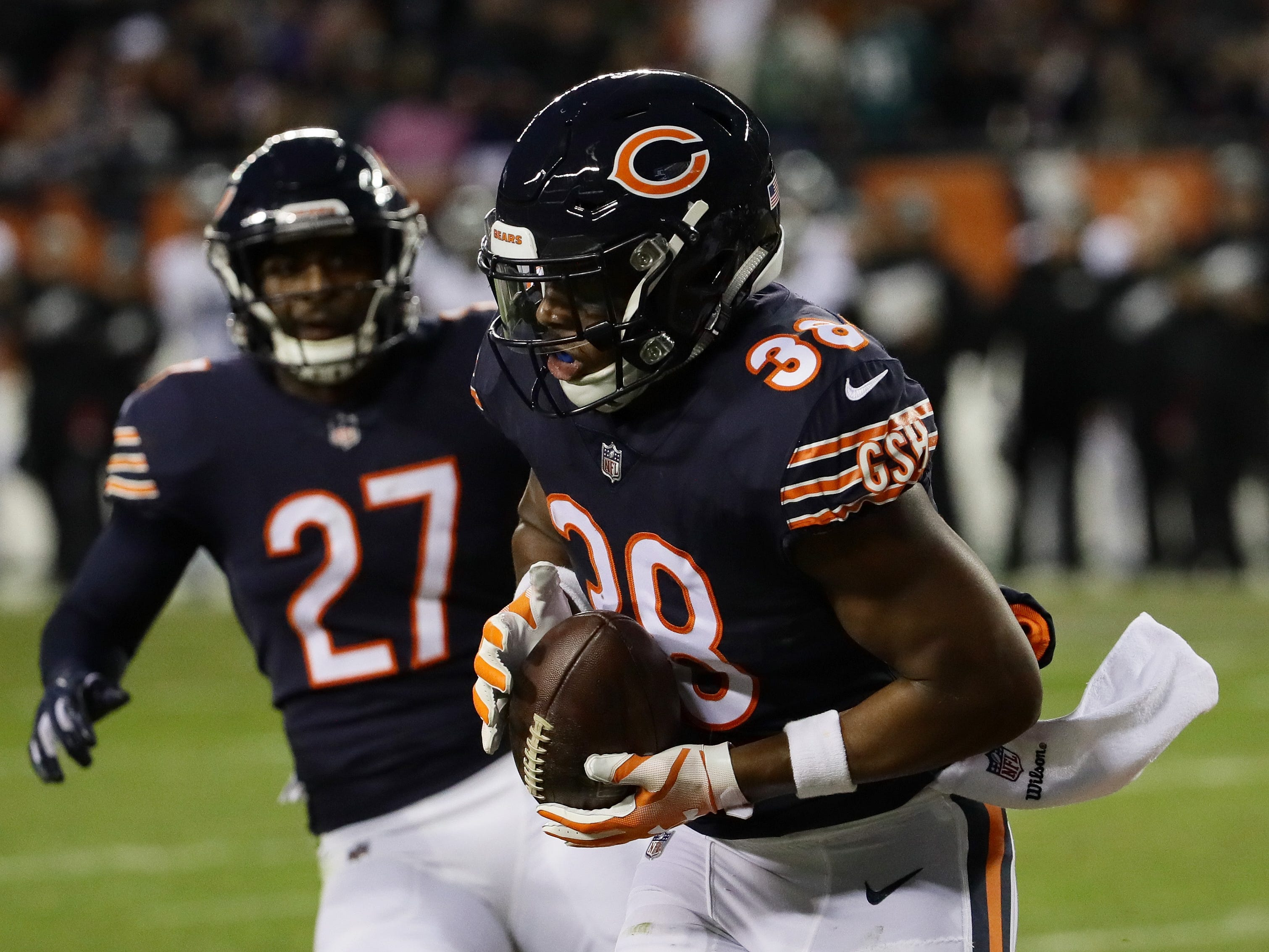 Adrian Amos, S, Chicago: Pro Football Focus loves Amos, grading him as one of their top 10 safeties the past two seasons. A big, physical hitter, Amos doesn't miss a lot of tackles, but he also has impressive range in coverage. He's one of those players who is not great at any one thing, but solid at just about everything.