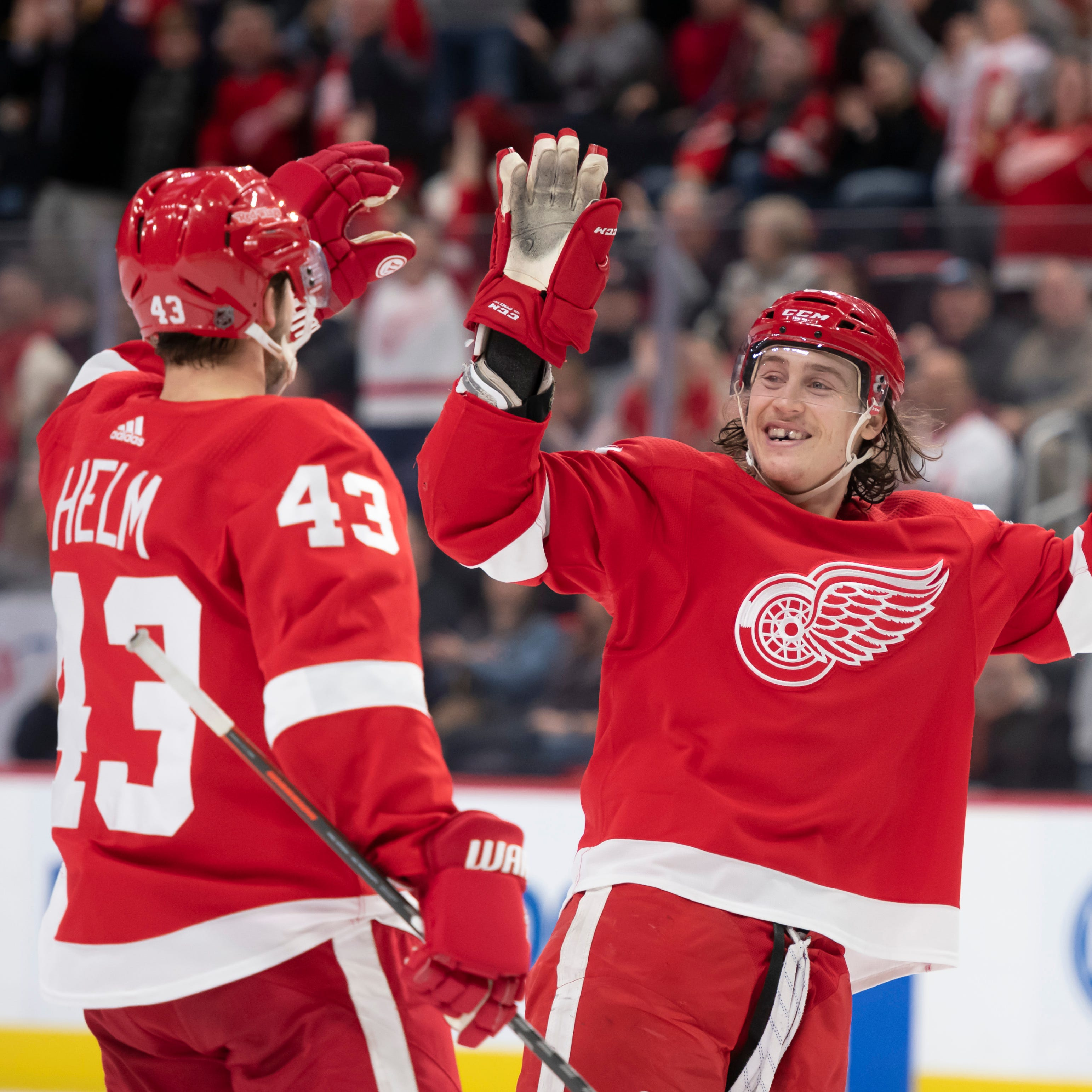 'Grab those points': Wings use late surge to down Ducks