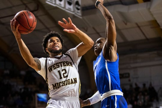 Western Michigan guard Michael Flowers scored 14 in the Broncos' win.